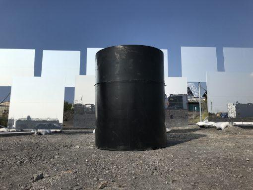 500 gallon water tank on the Big Island